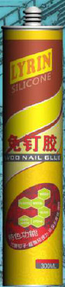 Nail Free Liquid Nails All Purpose Adhesive Caulk , Flexible Liquid Nails Tile Adhesive